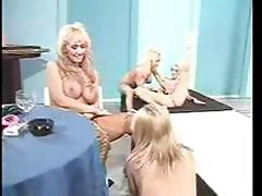 Retro Rocking Stripper Babes
