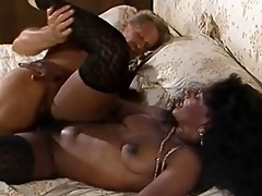 Black girl gets it in the ass