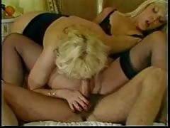 (no sound) Classic Danielle Martin and Sandra Nova in b