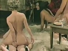 Classic German porn with multiple fucks