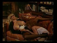 Retro lesbian sex and great hardcore fucking