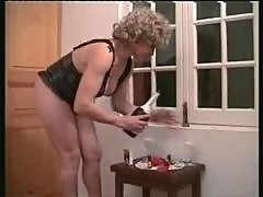 Andrea - Hard sex scene with her husband.