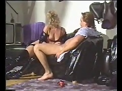 One vintage bitch in boots fucked hard