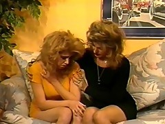 Curly Angella and Teri in hardcore action