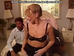 Sizzling hot vintage threesome fucking