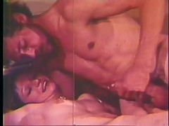 Two Babes Suck and Fuck John Holmes Monster Cock - Retro Porn