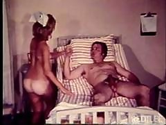 Hardcore Vintage Action With A Nurse Sucking The Life Back Into His Cock