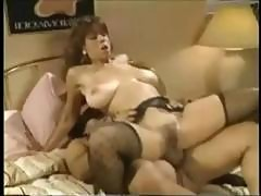 Christy Canyon Is A Big-breasted Vintage Babe Who Gets Screwed By Ron Jeremy