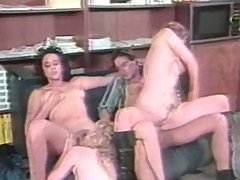Lucky guy fucks 3