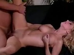Sex with gorgeous bimbo from 1980 porn
