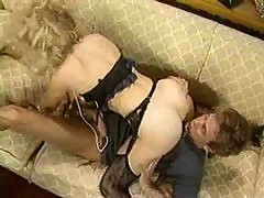 Classic blonde porn beauty fucked lustily
