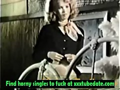 70s Blond gets Anal sexe And a Nice Load in the Mouth